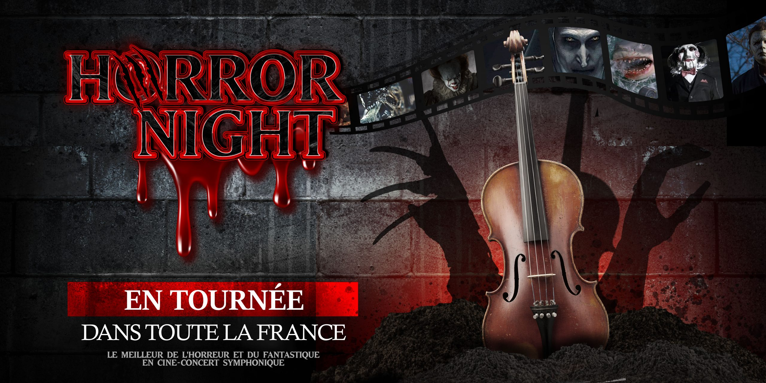 Horror night banner